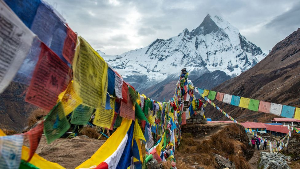 British Army officer Jimmy Roberts, who pioneered a golden age of Himalayan exploration, was fascinated with Machhapuchhare (Credit: Boy_Anupong/Getty Images)